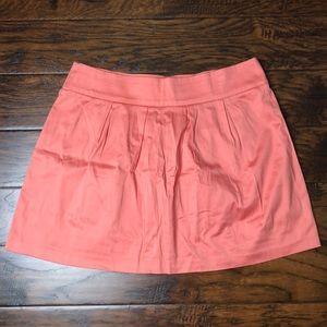 Peach stretchy skirt